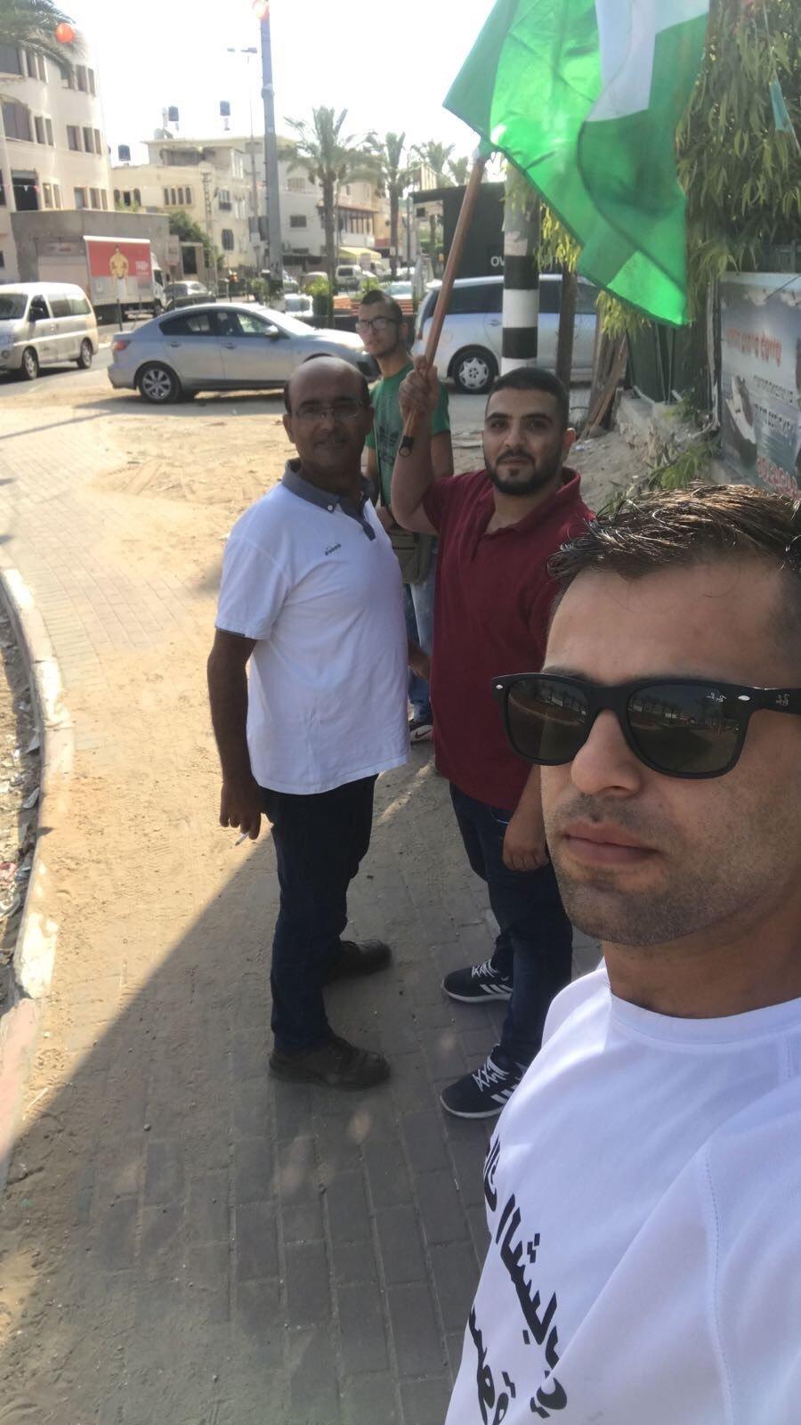 مظاهرة في قلنسوة نصرة للأقصى