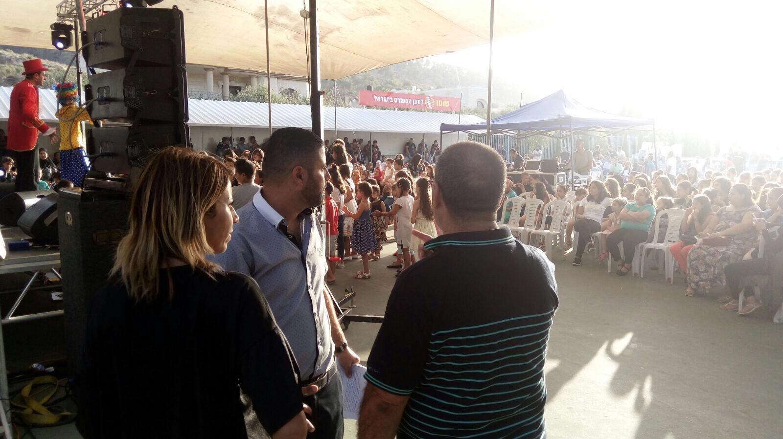حضور واسع بحفلة الفنان خلايلة في نين