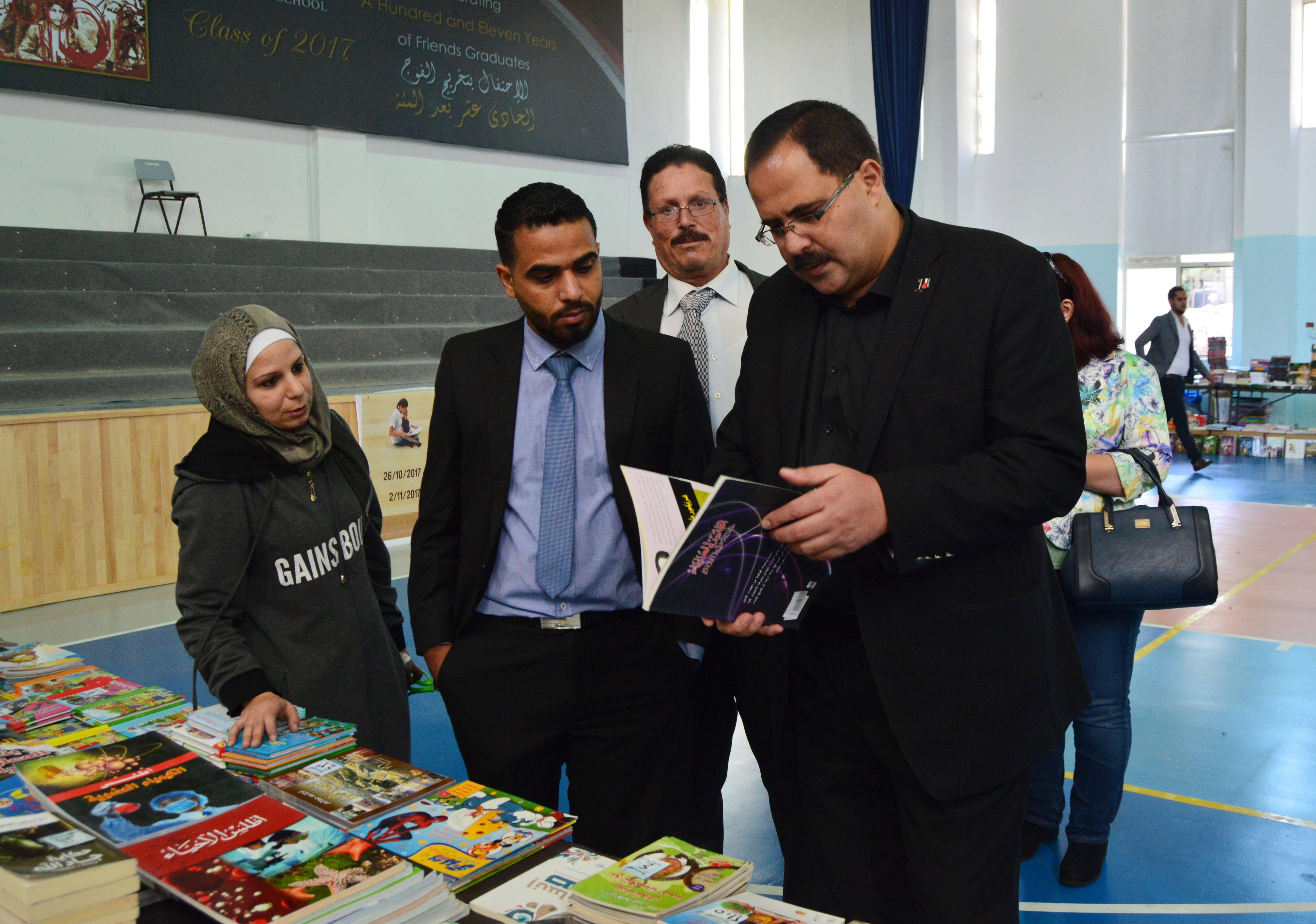الأسرة التربوية الفلسطينية تستقبل بطلة تحدي القراءة العربي