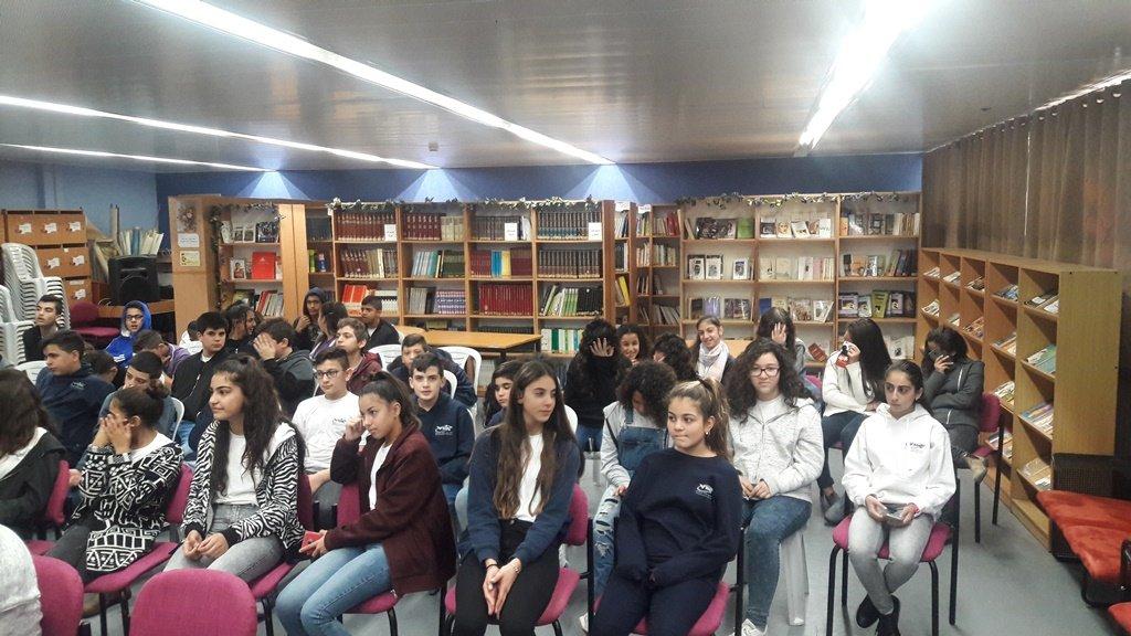 المحاضر حسين الشاعر في ضيافة مدرسة ترشيحا الشاملة أورط