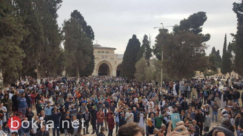 مظاهرات ومواجهات بالقدس والضفة في جمعة الإرادة .. وعدد من الإصابات