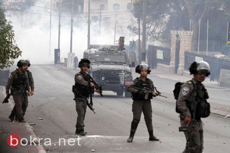 بالصور:شهيدان و92 جريحاً بالرصاص في مواجهات مع الاحتلال بقطاع غزة