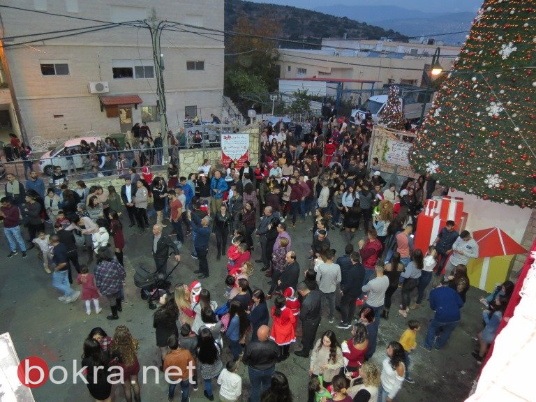 عيلبون: الالاف يشاركون بمسيرة عيد الميلاد .