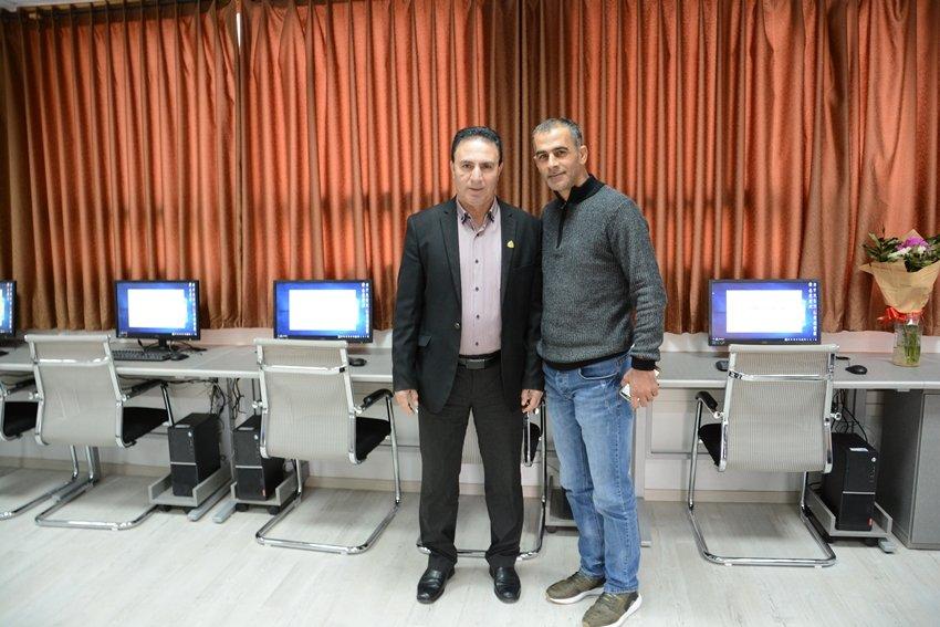 مجلس كفرمندا يفتتح 5 مختبرات حاسوب حديثة بقيمة 500 الف شيكل