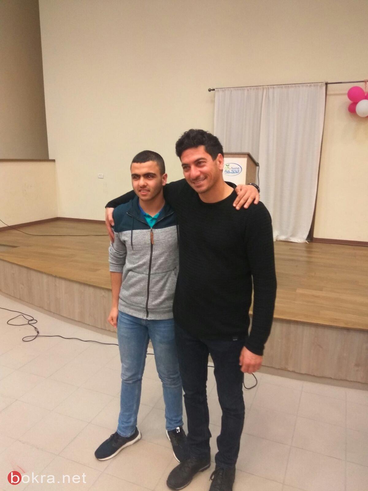 مروان مخول ضيفا على مدرسة بيت الحكمة