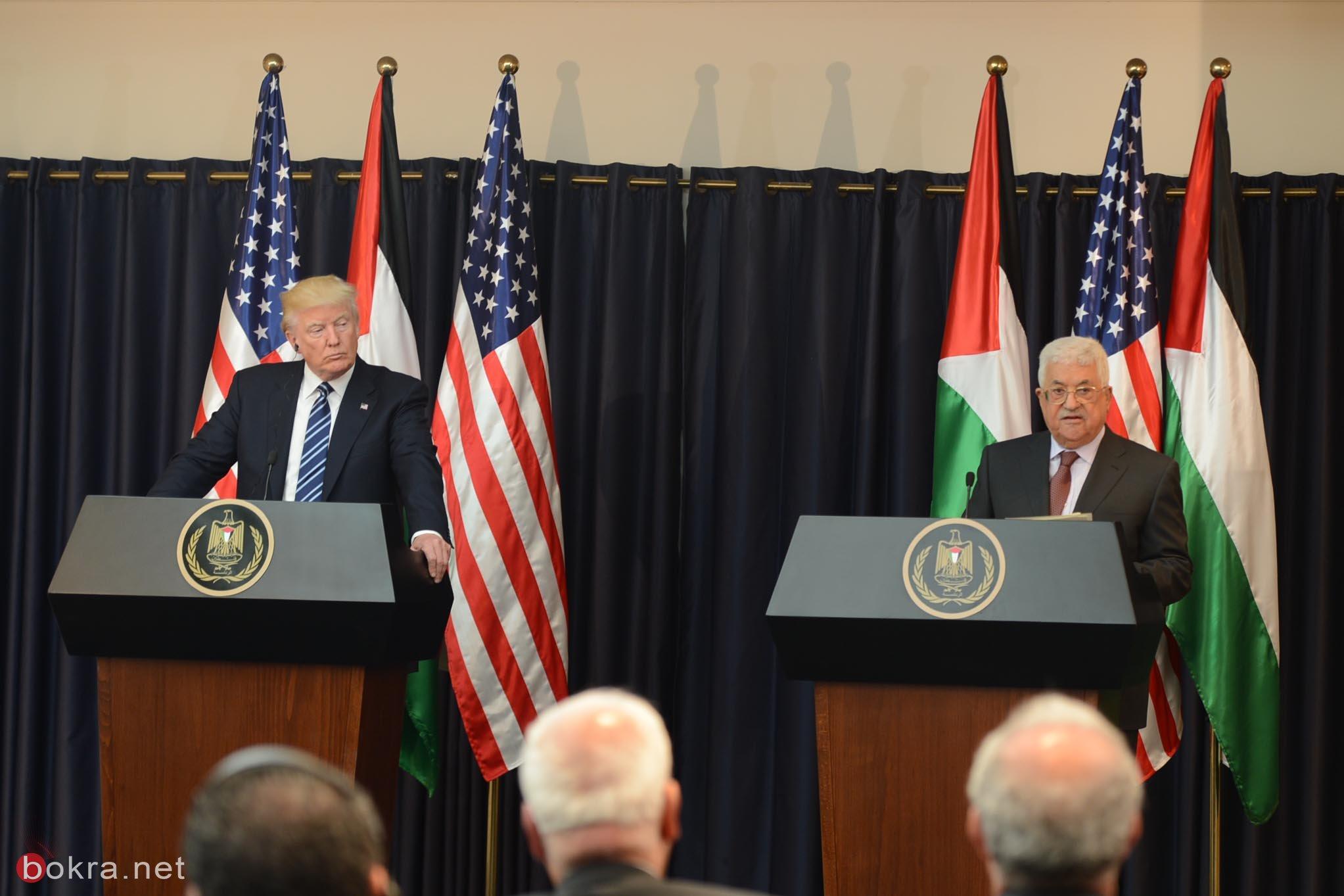 عباس في لقائه مع ترامب: حرية شعبنا واستقلاله مفتاح السلام والاستقرار