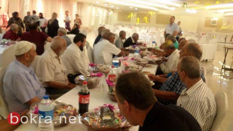 مجلس الشبلي أم الغنم ينظم إفطارًا رمضانيًا ومعايدة للمسنين والمسنّات