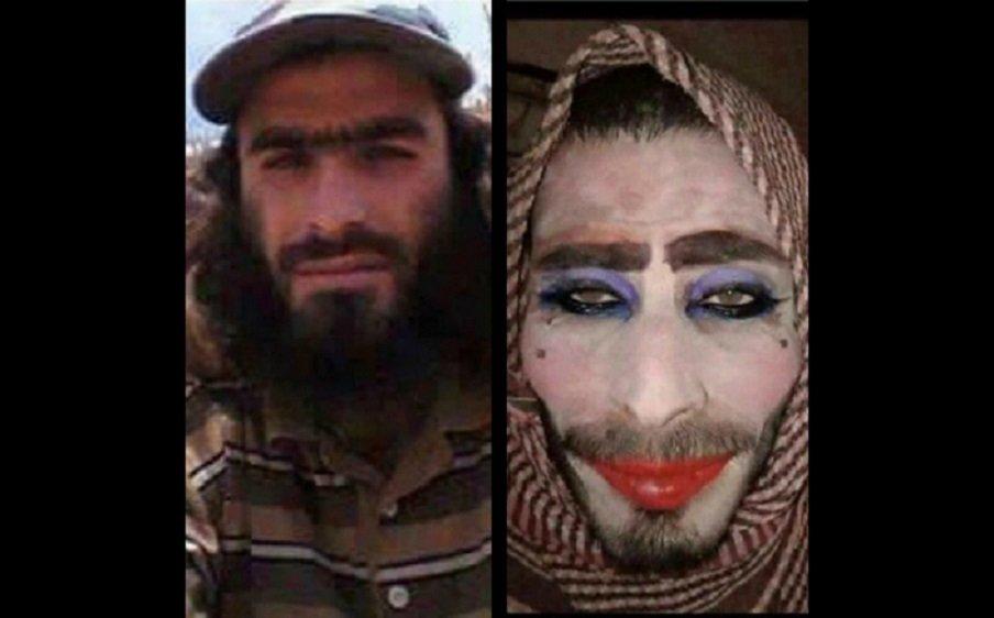 """تنكر كامرأة ونسي شاربه.. أغبى """"داعشي"""""""
