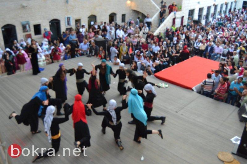 بالصور ... عرس فلسطيني وسط مدينة نابلس