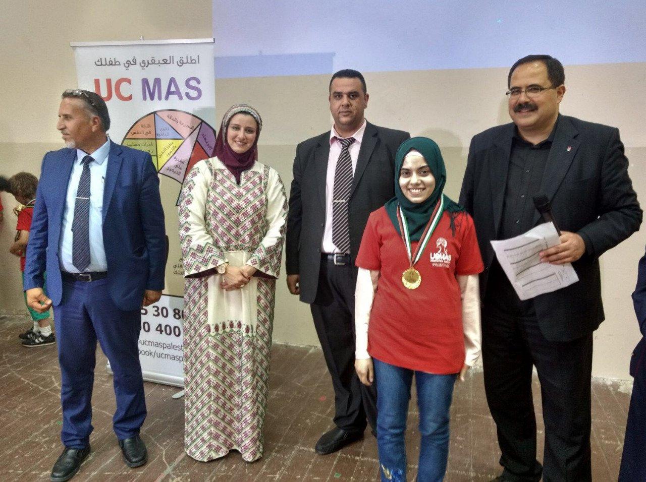 10 طلبة فلسطينيين يتأهبون للمنافسة عالمياً في مسابقة الحساب الذهني