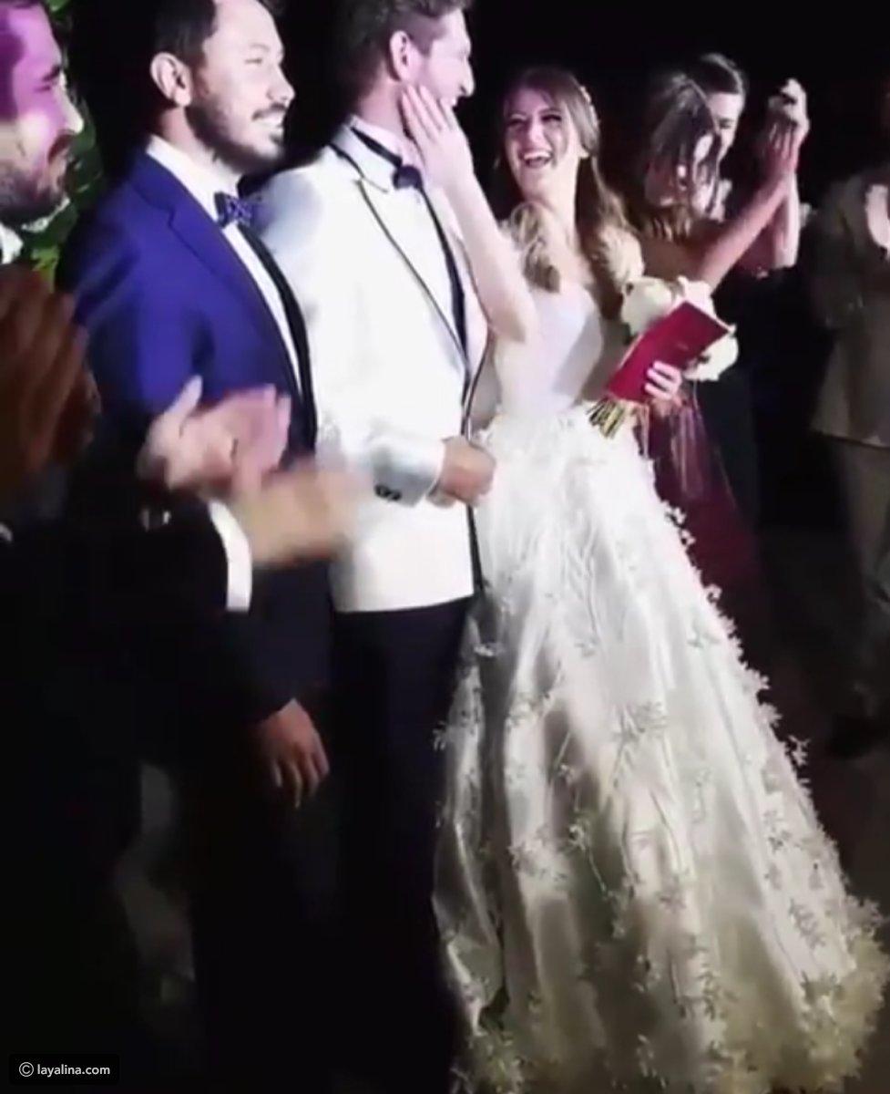 فيديو زفاف الفنانة جيزام كاراجا يثير جدلا في تركيا