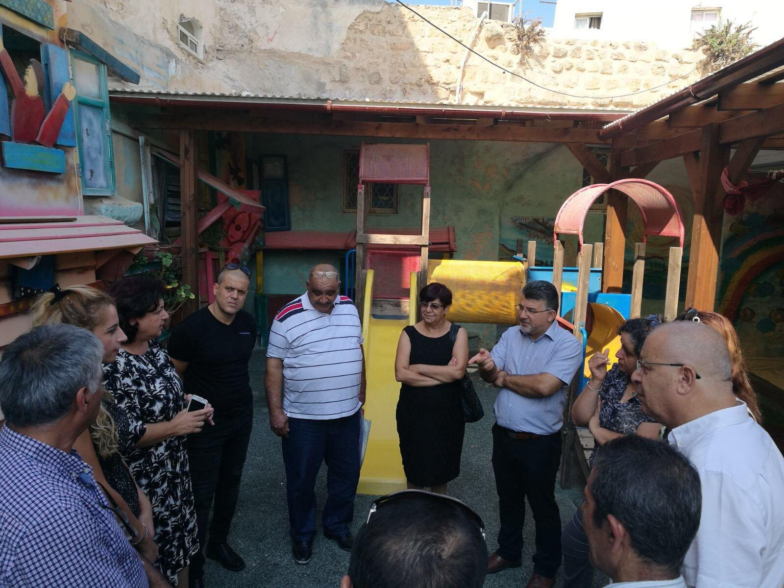 عكا: جولة ميدانية وجلسات عمل للنائبين يوسف جبارين وعايدة توما سليمان