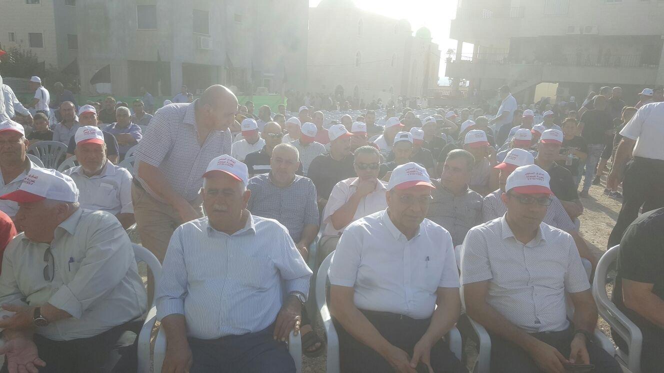 اختتام فعاليات احياء الذكرى الـ60 لمجزرة صندلة بحضور جماهيري كبير