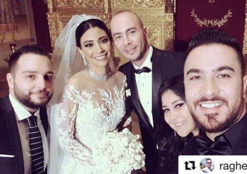 زفاف الاعلامي اللبناني رودولف هلال.. وحضور لنجوم الفن والاعلام