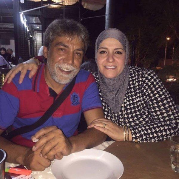 بالصور.. الإطلالة الاولى لزوجة أيمن رضا ولأبنائه يفاجئون الجمهور