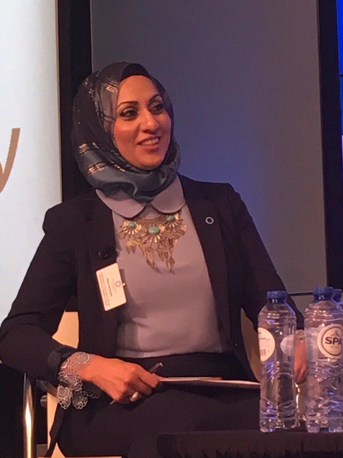 السيدة عناق مواسي تشارك في مؤتمر يوم السكري العالمي في بلجيكا