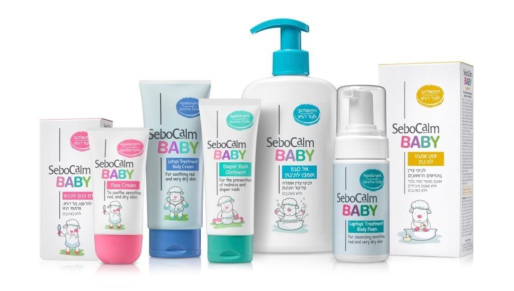 تخفيض %25 على منتجات سلسلة SeboCalm BABY