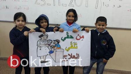 فعاليات يوم حقوق الانسان في مدرسة البرج شفاعمرو