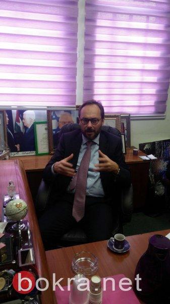 سفير الاتحاد الاوروبي يزور بلدية الناصرة