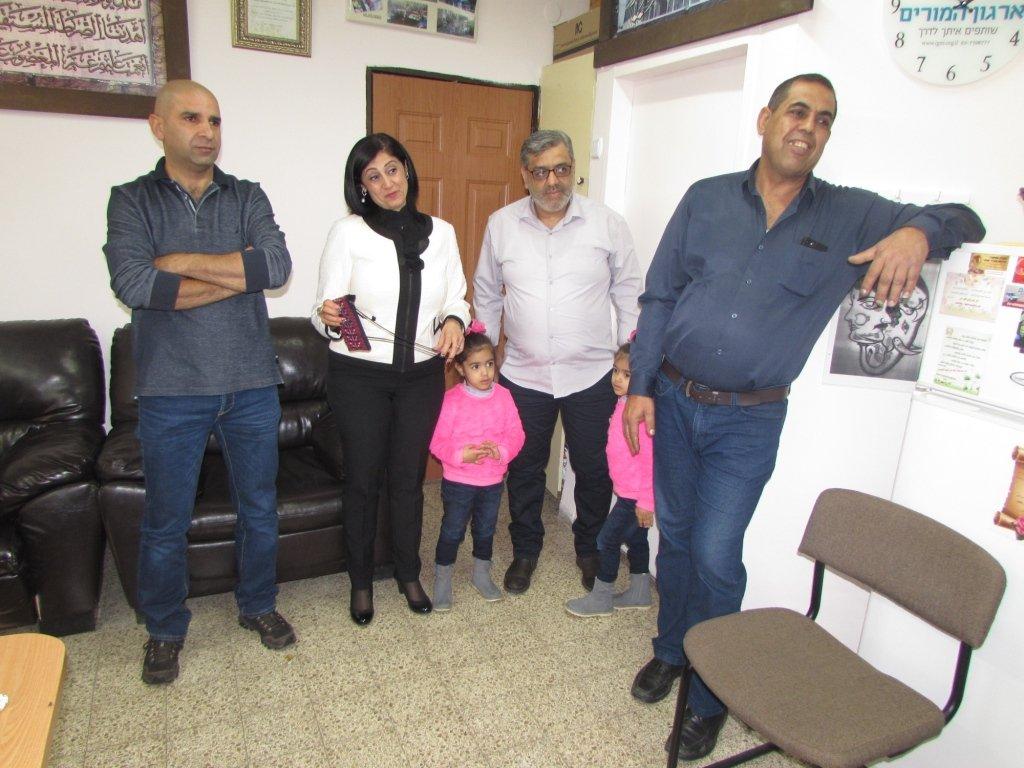 المدرسة الإعدادية الحديقة (أ) يافة الناصرة تكرم الطالب محمد فحماوي
