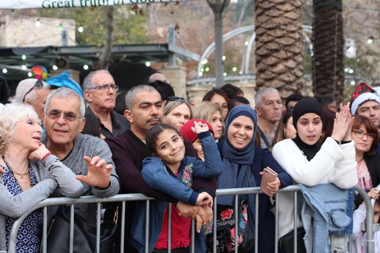اختتام فعاليات مسيرة الميلاد السنوية في الناصرة