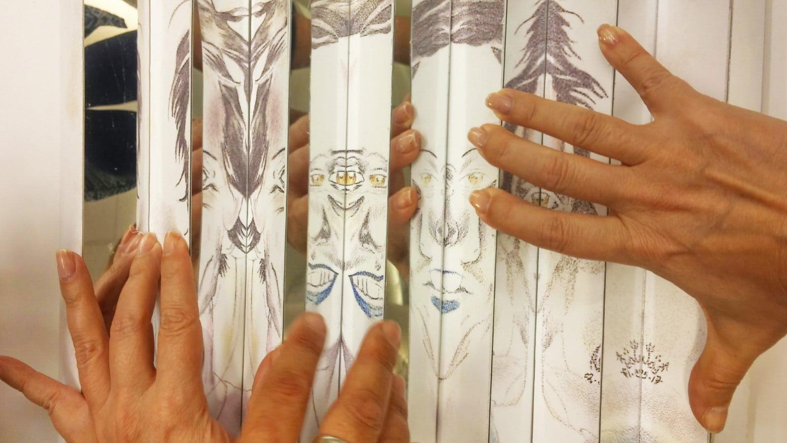 الكليّة الأكاديميّة بيت بيرل تفتتح معرضًا فنيًّا يعكس تجارب وتحدّيات المعلمين الجدد