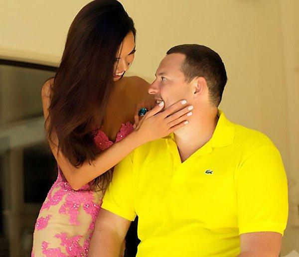 ملياردير روسي يقدم لزوجته في عيد زواجهما هدية بـ 9 ملايين دولار