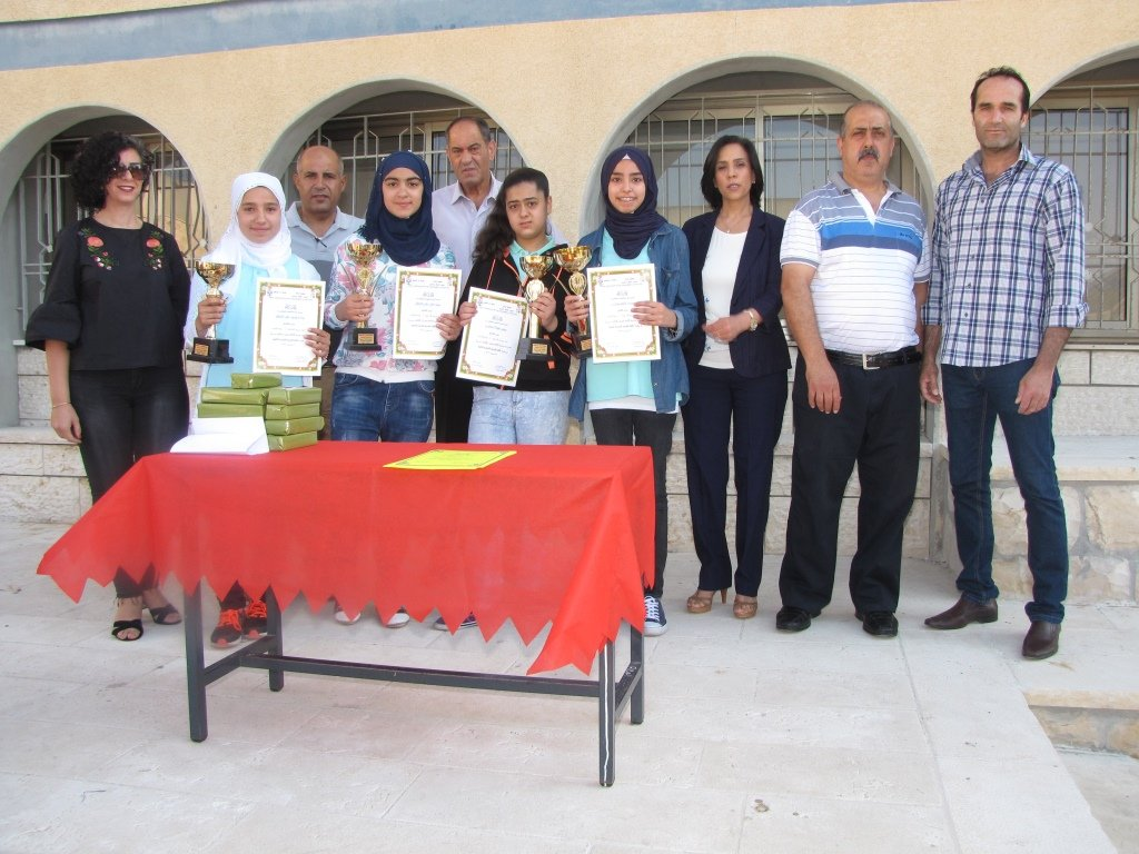 المدرسة الإعدادية الحديقة يافة الناصرة تحصد نتائج مشرفة في بطولة اللغة العربية والرياضيات