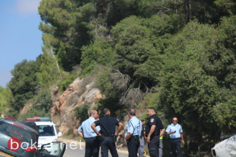 مصرع شخص وإصابة آخر بحادث مروع قرب عرابة
