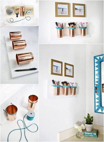 أفكار لتخزين أدوات المكياج في المنزل