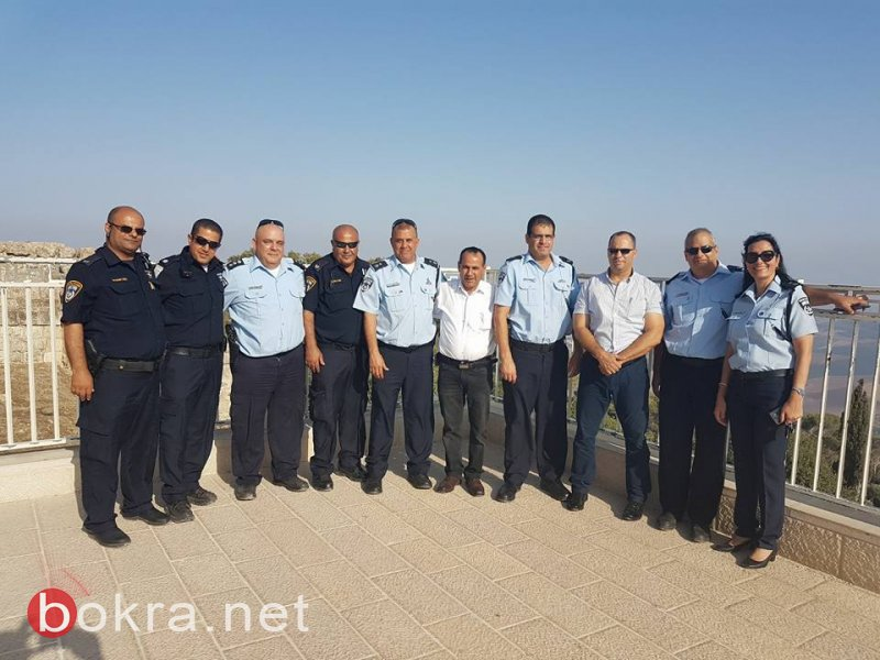 مجلس الشبلي أم الغنم يستقبل قيادة شرطة الشمال لتأكيد العمل المشترك ضد الظواهر السلبية