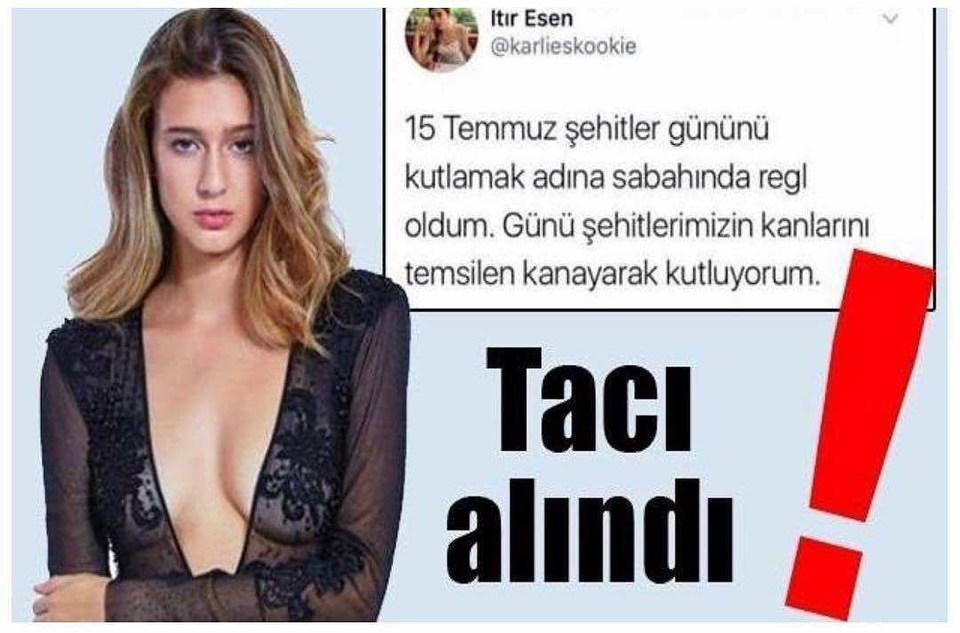 سحب اللقب من ملكة جمال تركيا بسبب