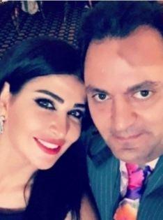 جمانة مراد تشعل الشبكات بلقطة رومانسية مع زوجها