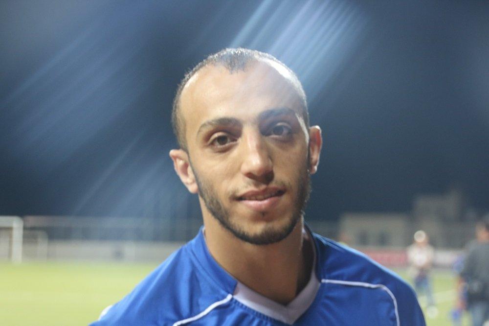 اللاعب ابو نهيا: كأس السوبر الفلسطيني مهم للنادي والحمدلله حصدناه