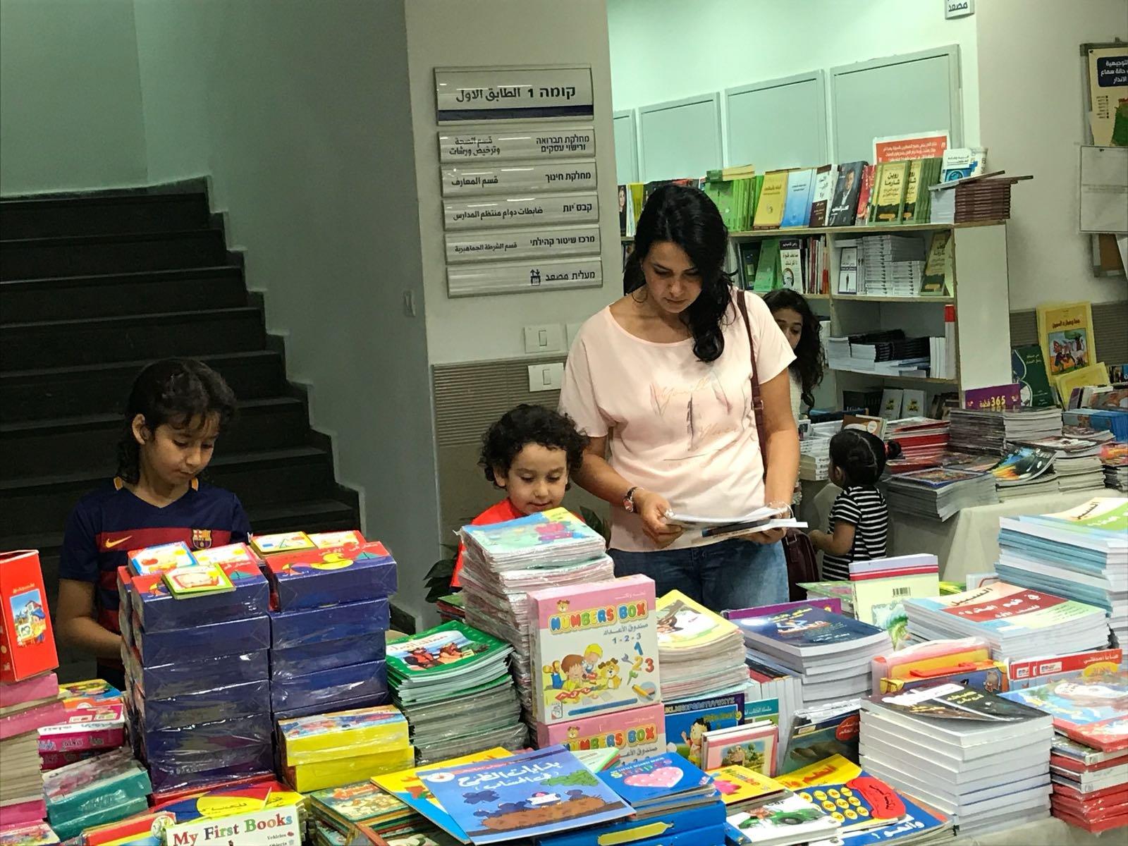 الطيبة نجاح ضخم لمعرض الكتاب في الطيبة، وحفل للاطفال بالمعرض
