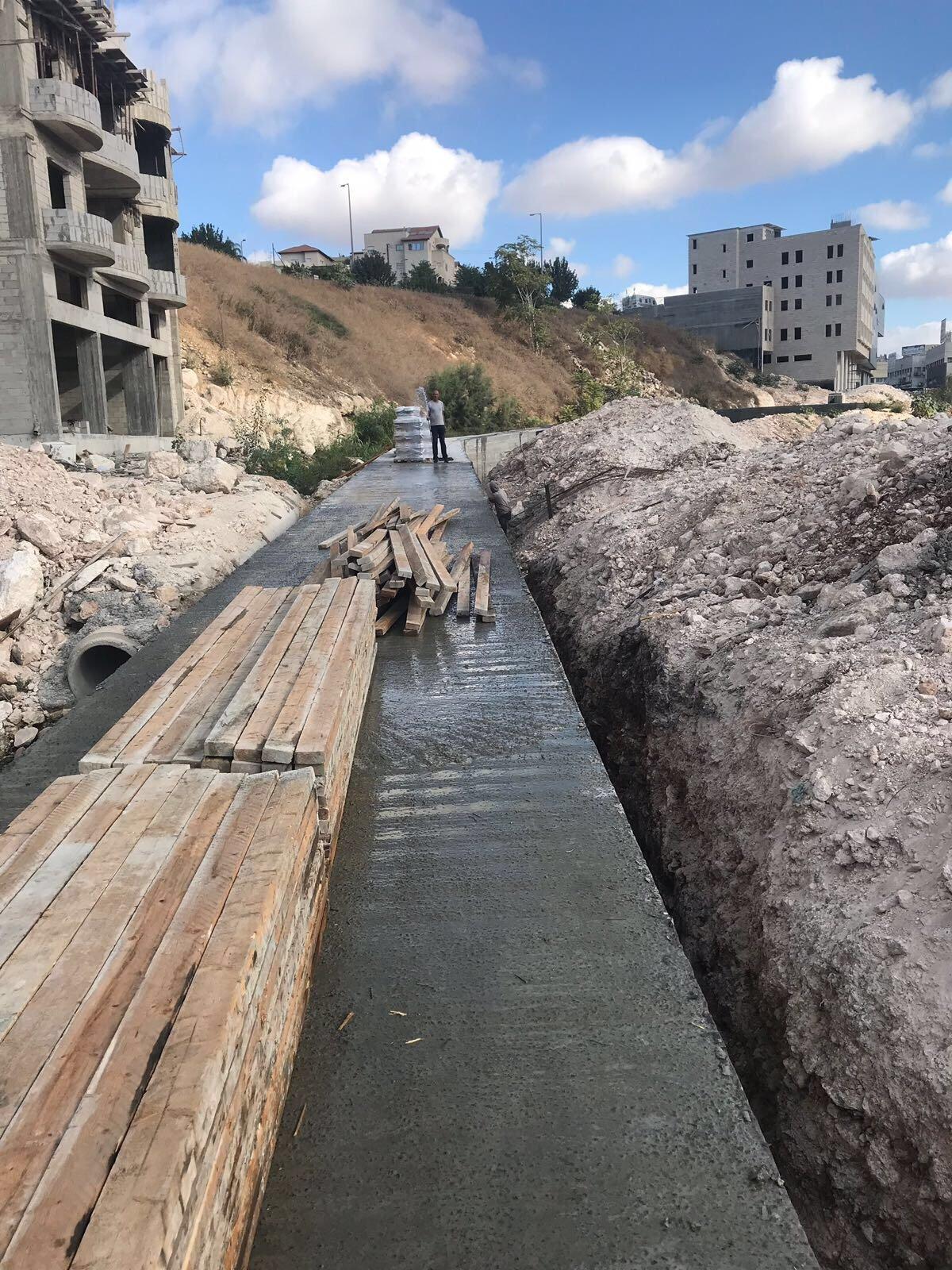 البنية التحتية وتصريف المياه .. من مشاريع بلدية الناصرة
