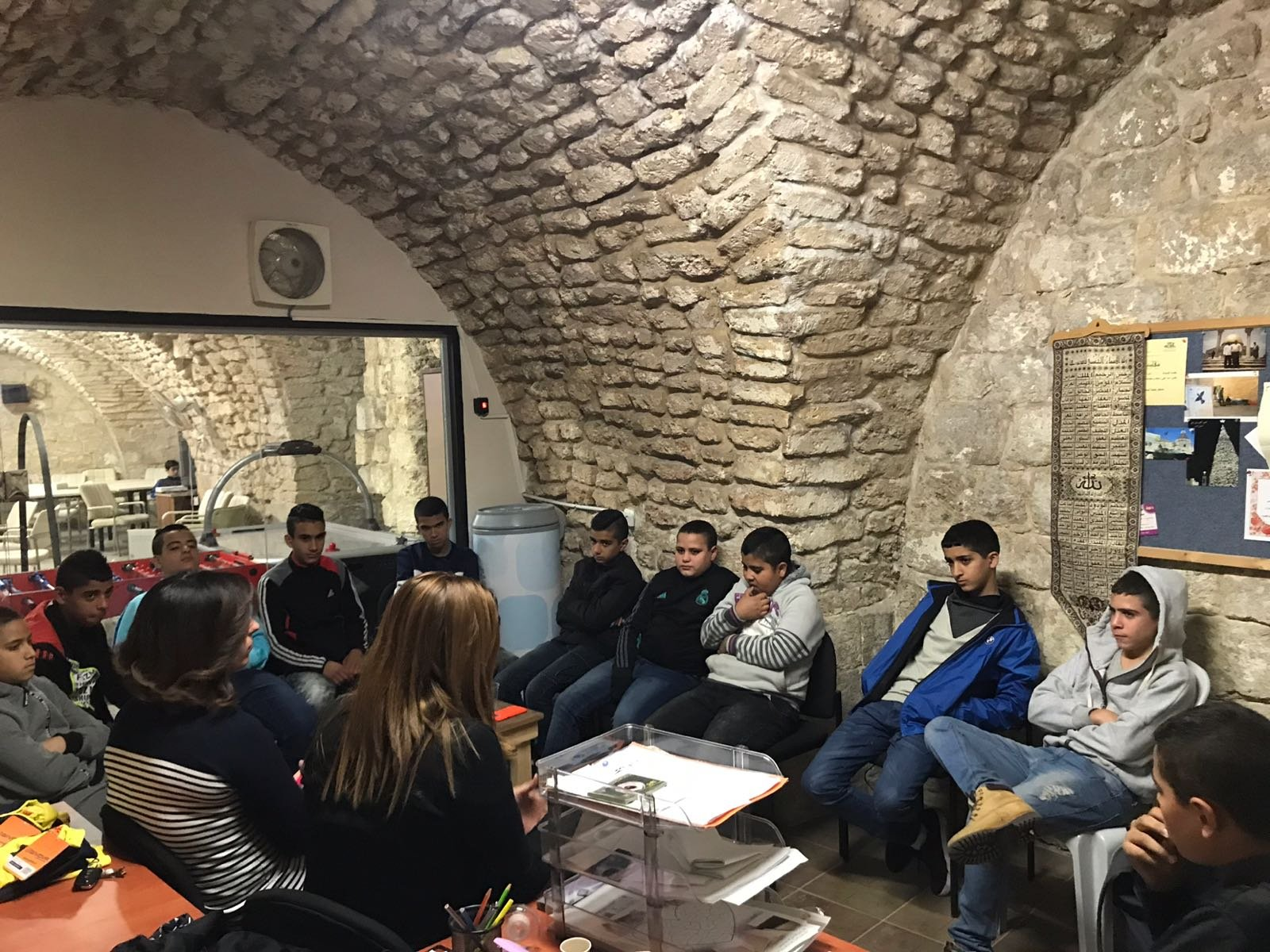استمرار لقاءات دورة التنمية البشرية نادي البلدة القديمة بالناصرة