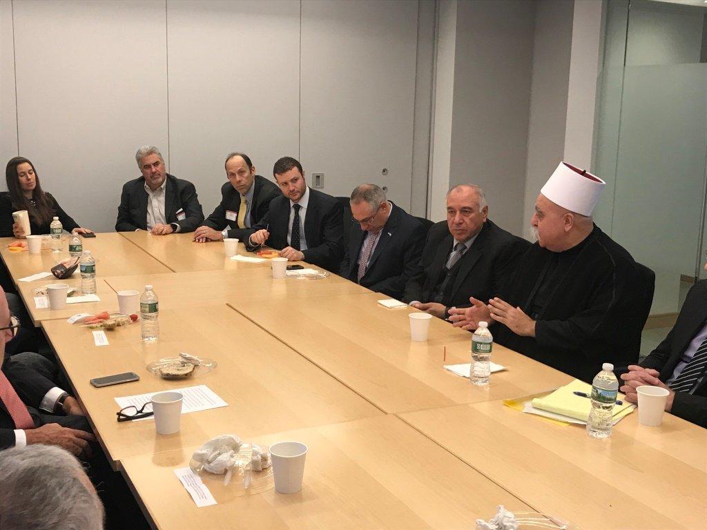 الشيخ موفق طريق يختتم زيارته للولايات المتحدة بعد اجتماعات مهمة