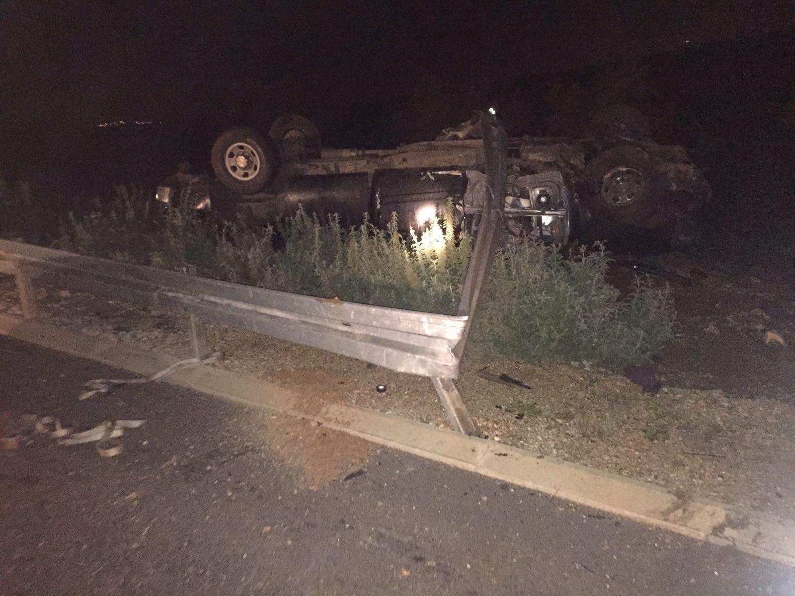 مصرع رجل بعدما اصطدمت سيارته ببقرة على شارع 65 قرب كدريم