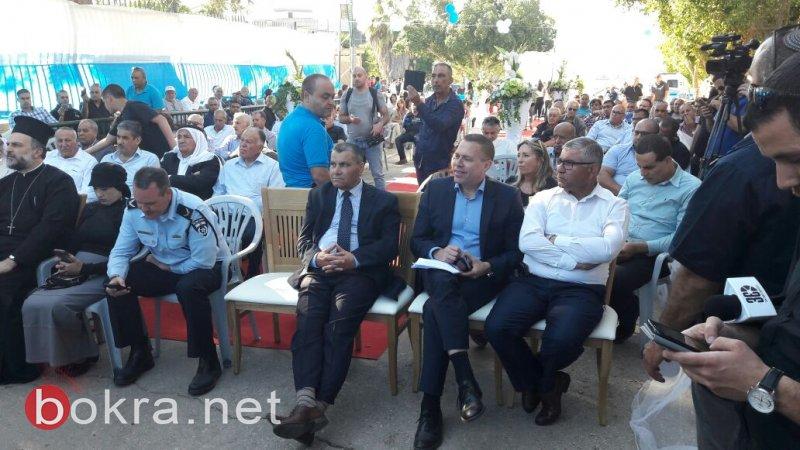 الوزير أردان واللواء حكروش بضيافة بستان المرج لبحث عمل الشرطة بالمجتمع العربي