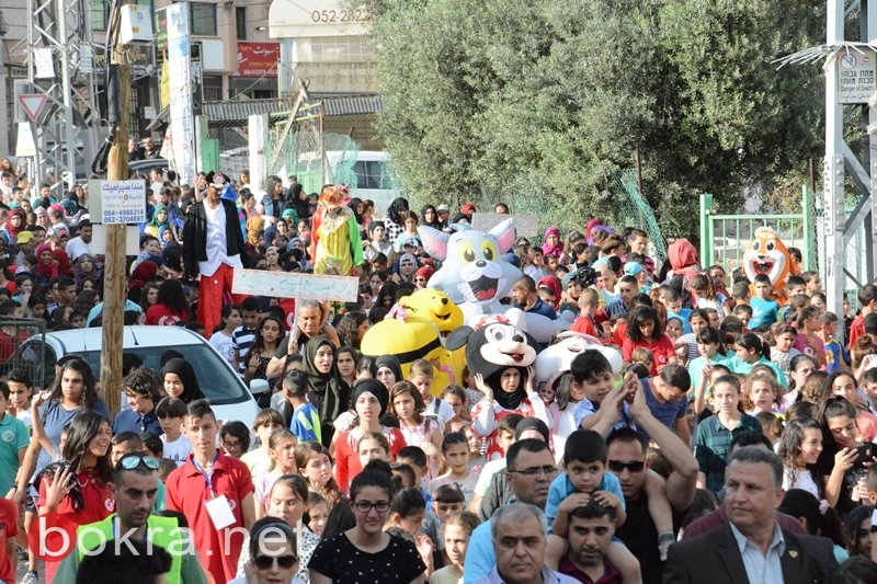 كفرمندا تحتفل بالكرنفال المنداوي الأول بمشاركة 4000 آلاف شخص