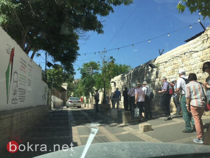 الناصرة: محو جدارية النكبة للمرة الرابعة!