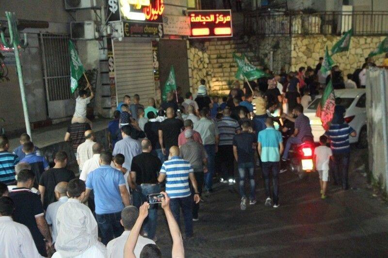 مشاركة واسعة بمسيرة العيد في ام الفحم