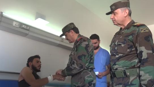 إسرائيل تقصف مواقعًا سورية من جديد ووزير الدفاع السوري يزور الحدود الجنوبية
