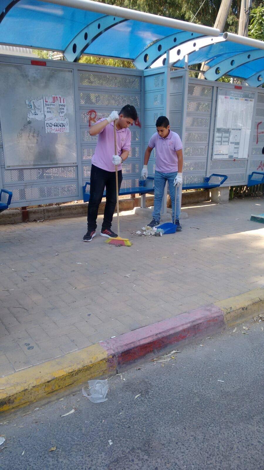 مدارس باقة الغربية تتفاعل مع يوم النظافة العالمي