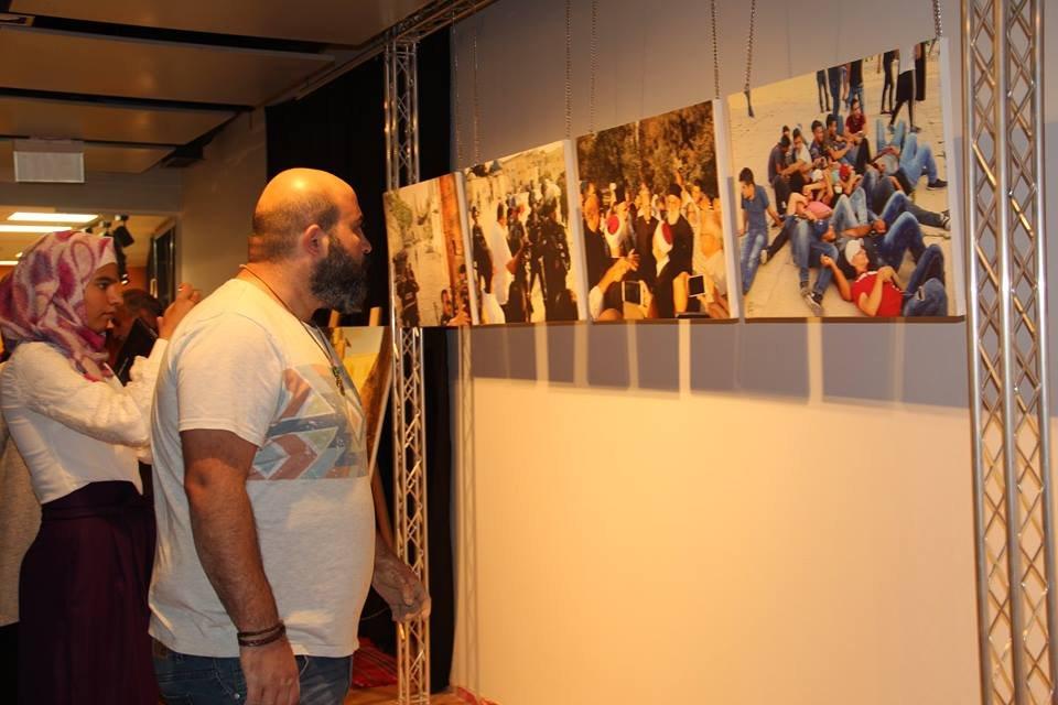 اختتام معرض انتصار الغضب لعيسى قواسمي في مركز يبوس الثقافي