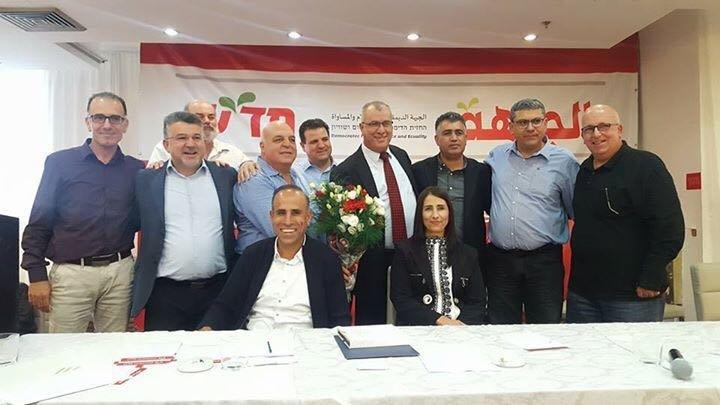 بعد انتخابه رئيسًا للجبهة، د. عفو اغبارية يؤكد على أهمية وحدة الفروع بكل المناطق