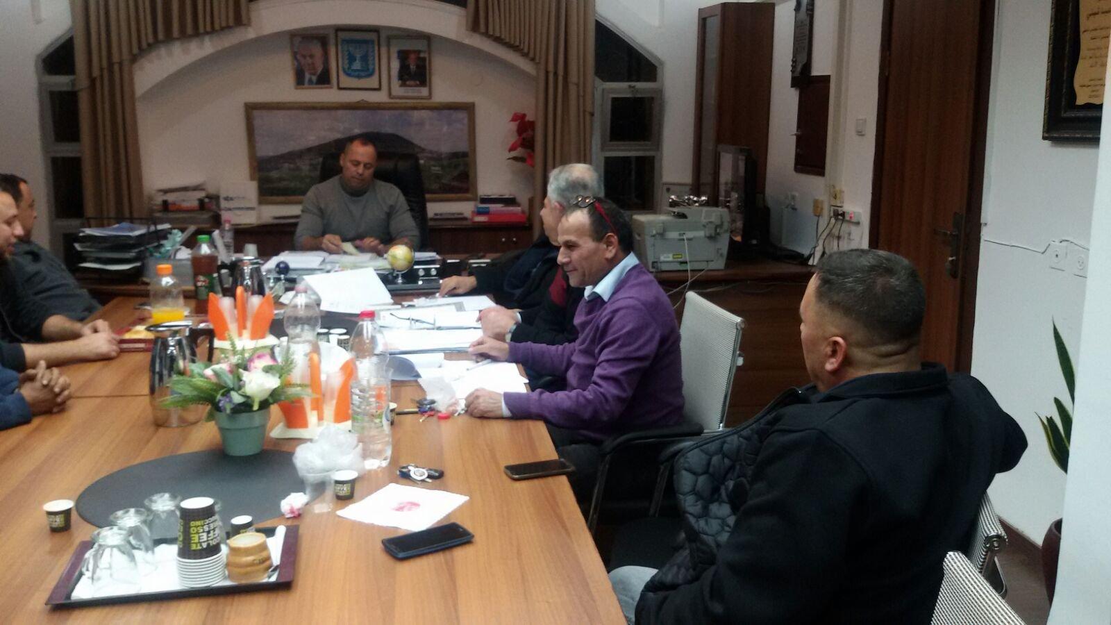 المجلس المحلي الشبلي أم الغنم يصادق على ميزانية 2018