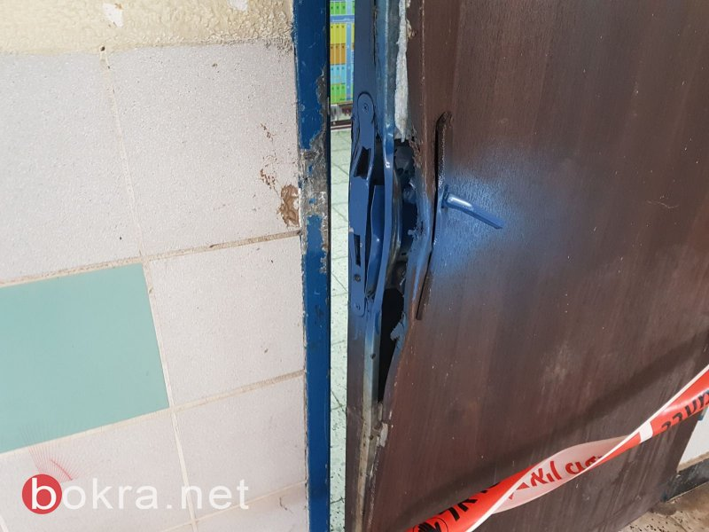 تخريب ممتلكات مدرسة ابتدائية في طرعان