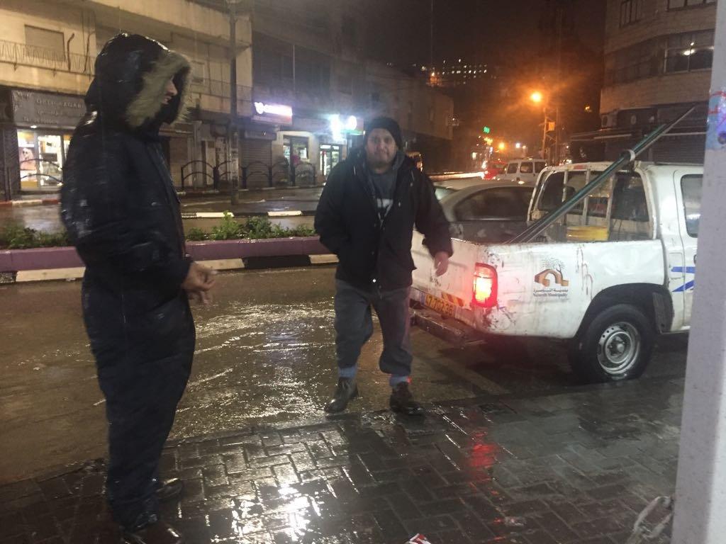 الناصرة: البلدية جاهزة بمعداتها وطوارئها .. والحالة الجوية تمر دون أي اضرار